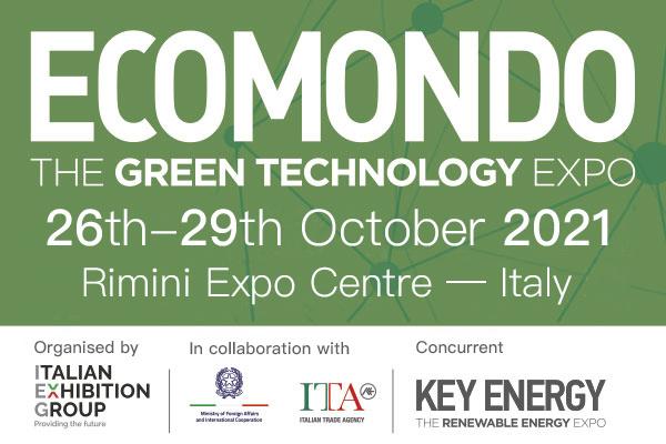 soluzioni ecologiche per comuni ad Ecomondo 2021 Rimini presentate da Eurven