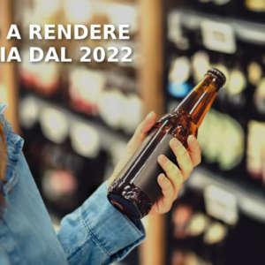 Vuoto a Rendere in Italia dal 2022: nuovi regole e premialità per incentivare il sistema di reso delle bottiglie di plastica e vetro